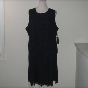 New Vince Camuto navy Lace dress